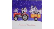 Towing the Trees - Christmas Cards