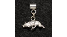 Silver Border Collie Charm