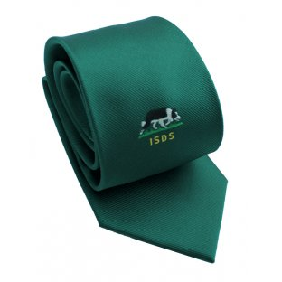 ISDS Green Tie