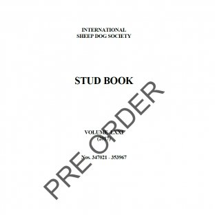 ISDS Stud Book 2017 - PRE ORDER
