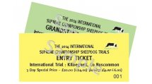 Event Tickets - 2014 INTERNATIONAL TRIAL