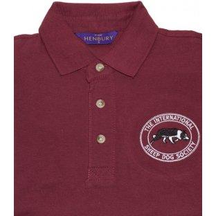 Mens Polo Shirts International Sheep Dog Society
